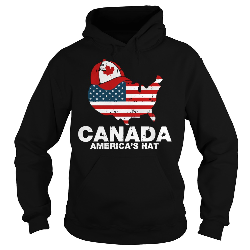 Canada America's hat hoodie