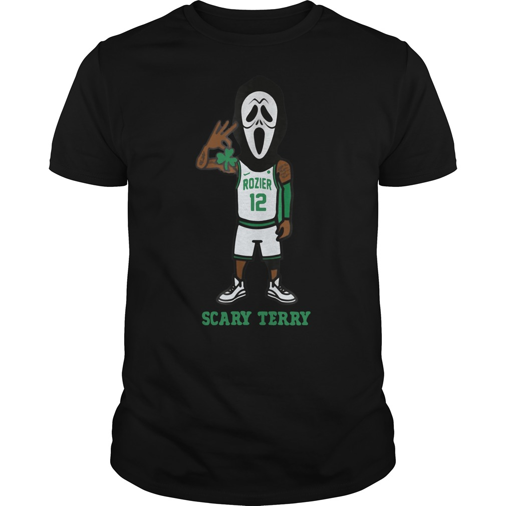 Celtics Rozier scary terry shirt