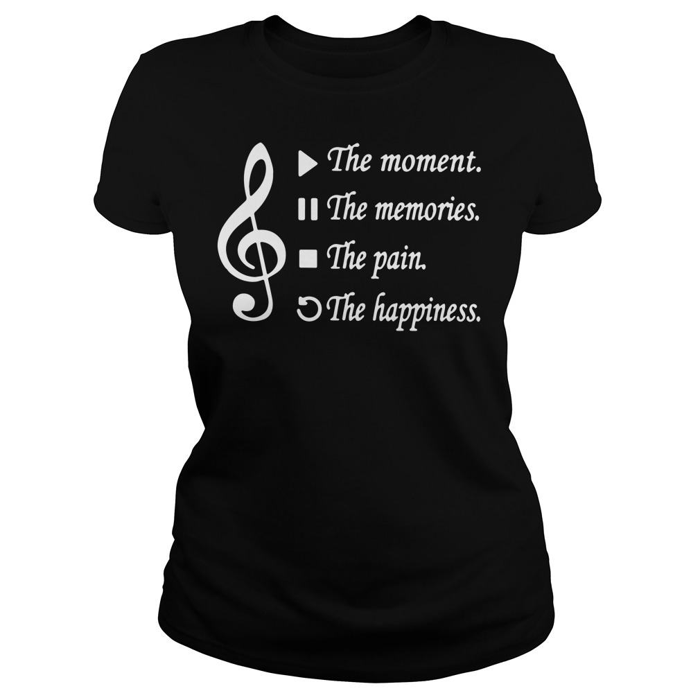 Music Play the moment pause the memories stop the pain rewind the happiness tank top