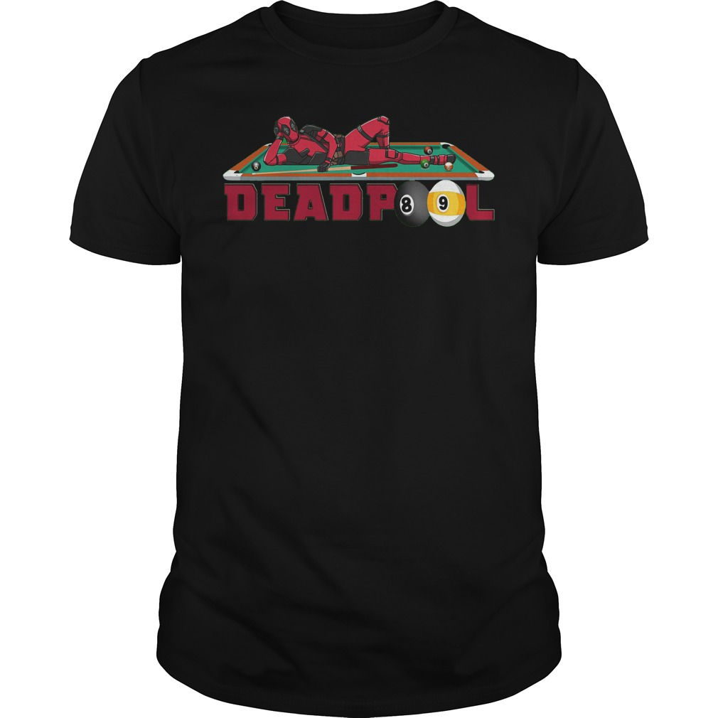 Deadpool Billiards shirt