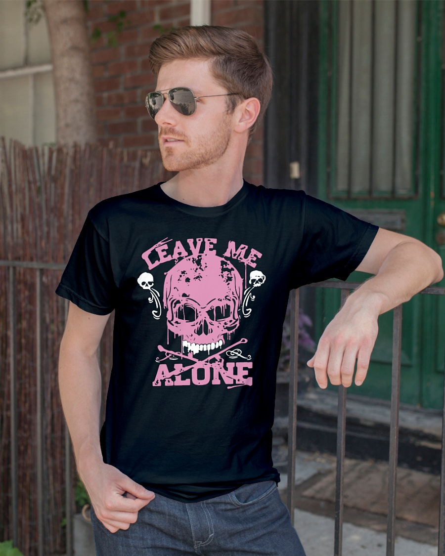 Official Leave Me Alone Skull Shirt