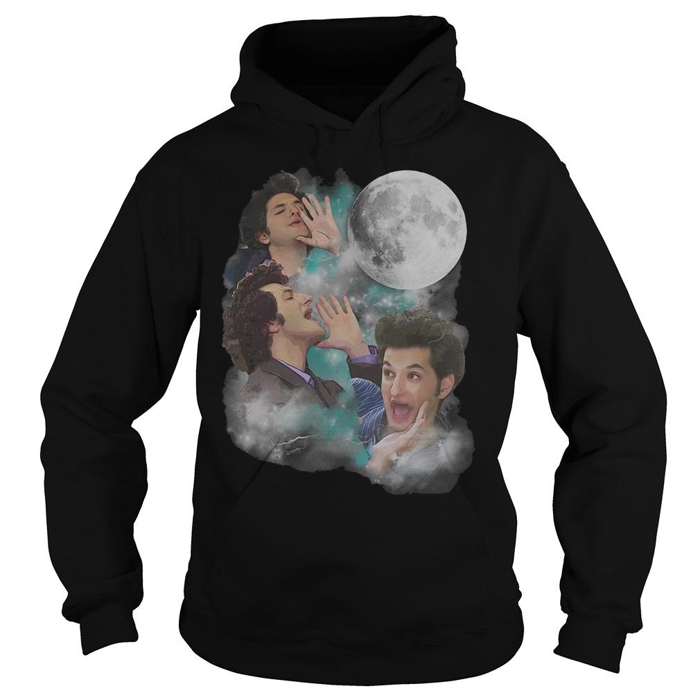Three Jean Ralphio Moon hoodie