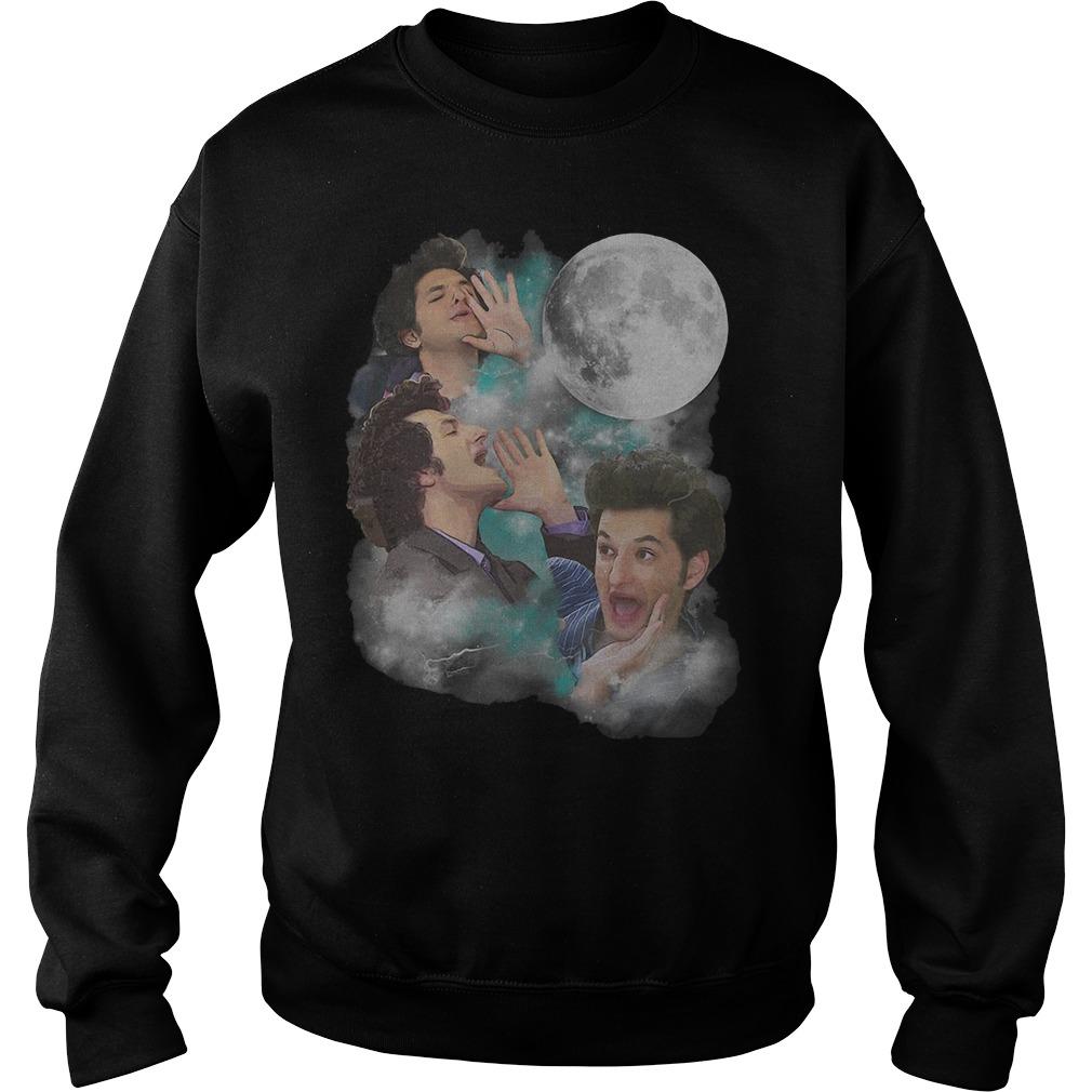 Three Jean Ralphio Moon sweater