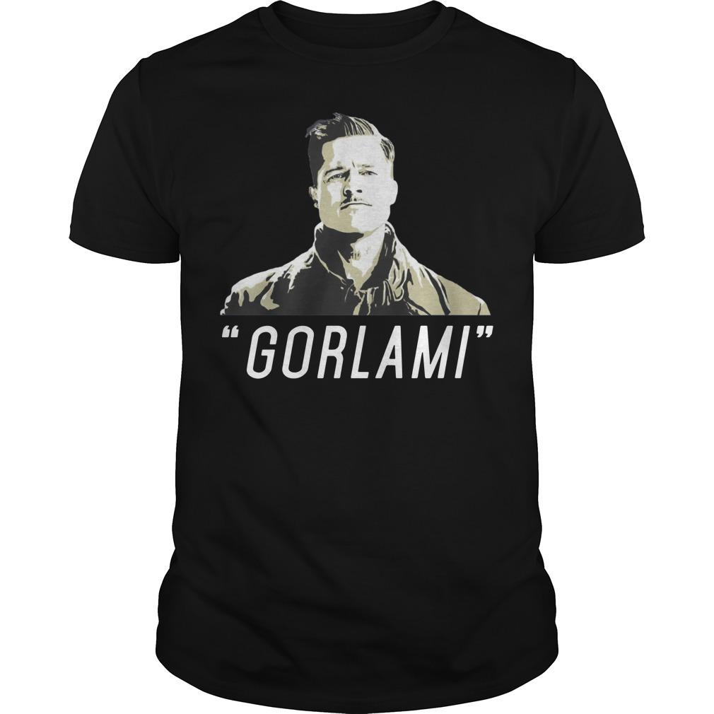 Brad Pitt Gorlami shirt
