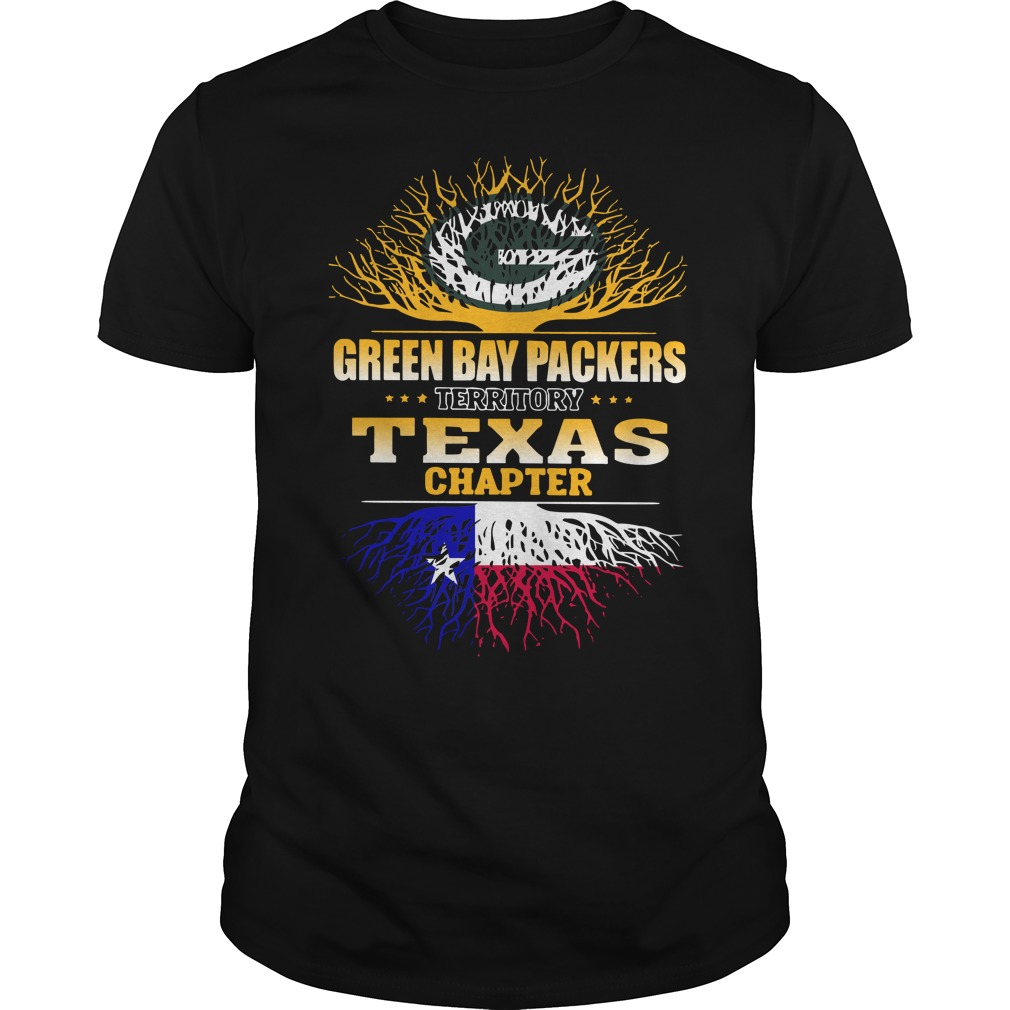 Green Bay Packers territory Texas chapter shirt