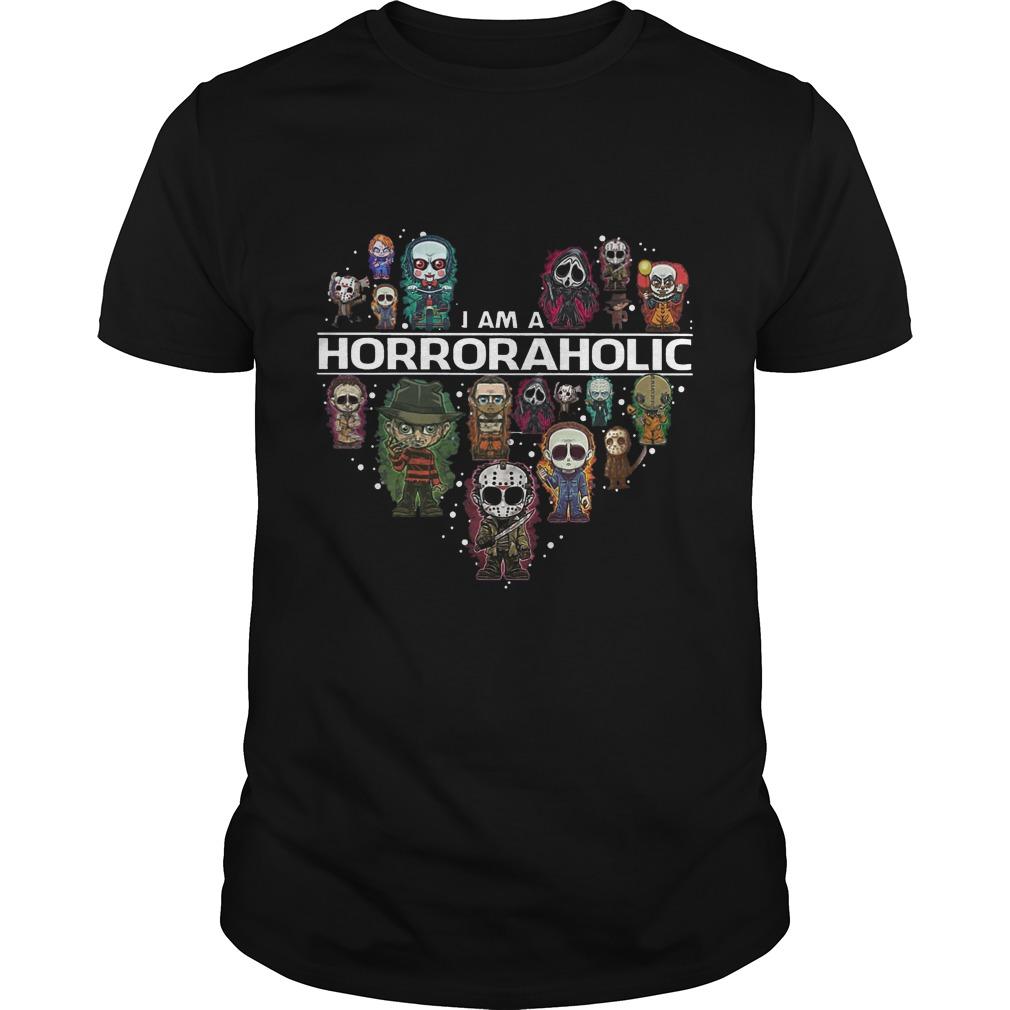 I am a HorrorAholic shirt