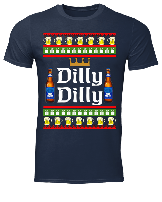 Bud Light Dilly Dilly Ugly Christmas shirt