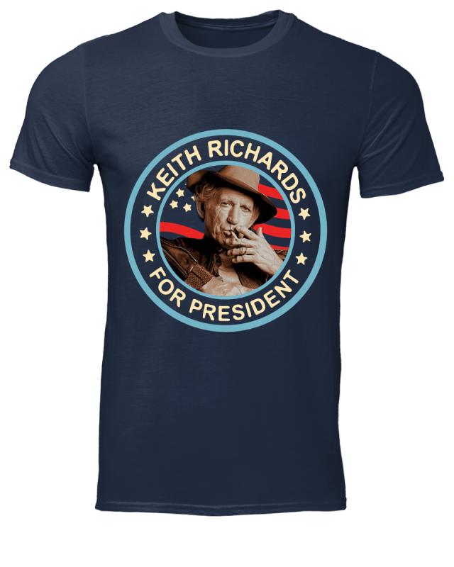 Keith Richards For President Shirt