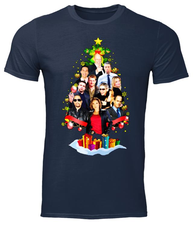 Law and Order Svu Christmas tree shirt