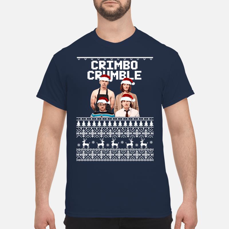 Friday Night Dinner Crimbo Crumble Ugly Christmas Shirt