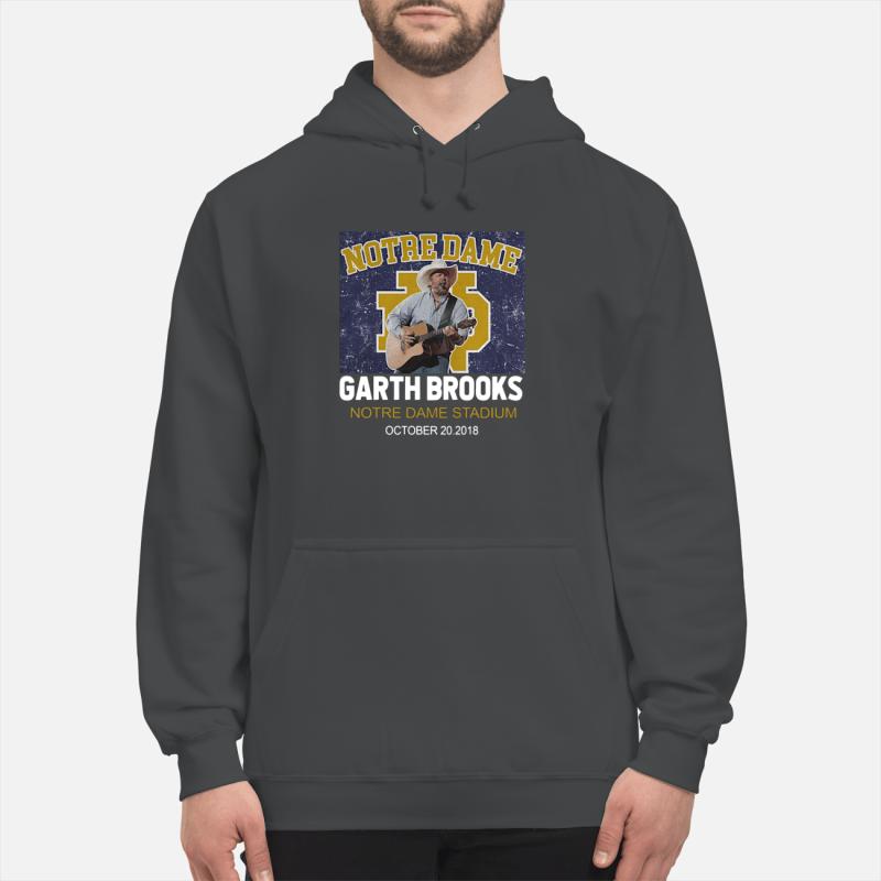 Notre Dame Garth Brooks Notre Dame Stadium October 20, 2018 hoodie