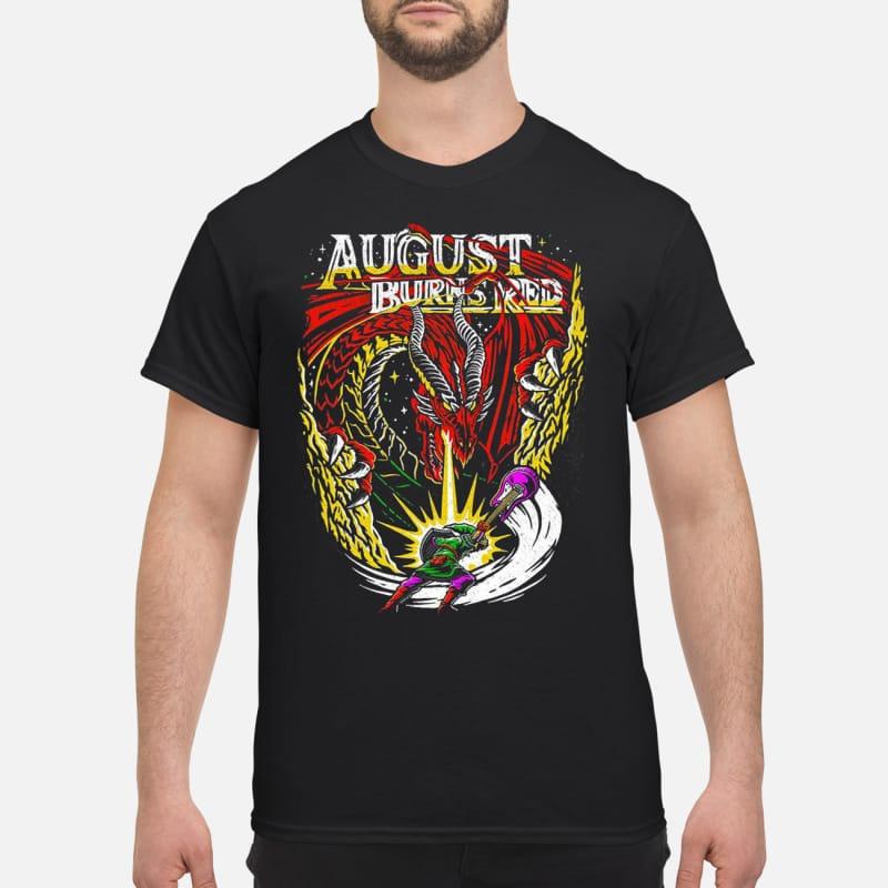 The Legend of Zelda August burns red shirt