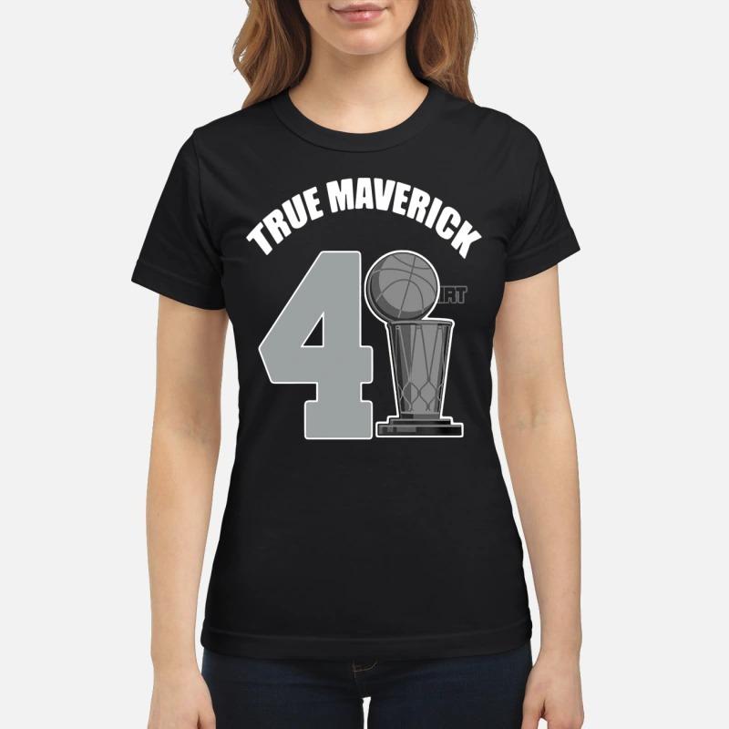 Dallas Mavericks Dirk True Mavericks 41.21.1 ladies tee