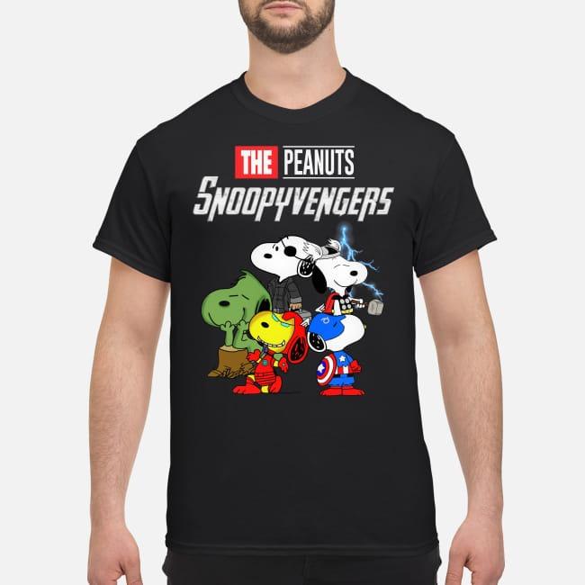 Marvel Super Heroes Peanuts Snoopyvengers Dog version shirt