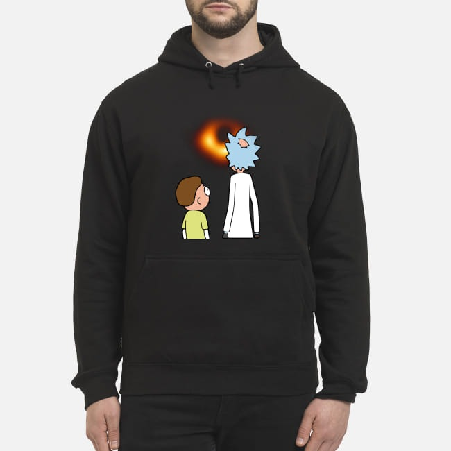 Rick and Morty Black hole hoodie