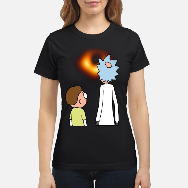 Rick and Morty Black hole ladies tee