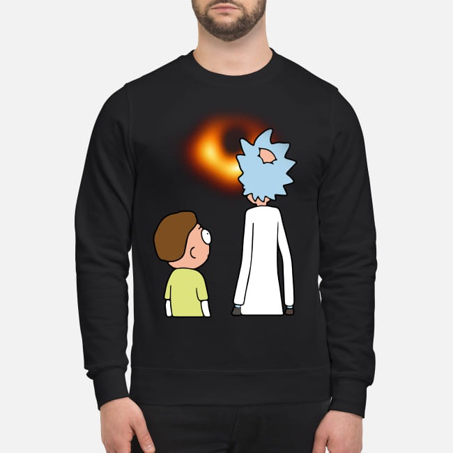 Rick and Morty Black hole sweater