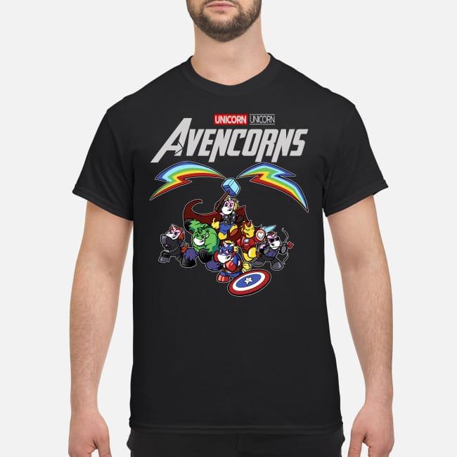 Super Heroes Unicorn Avencorns shirt