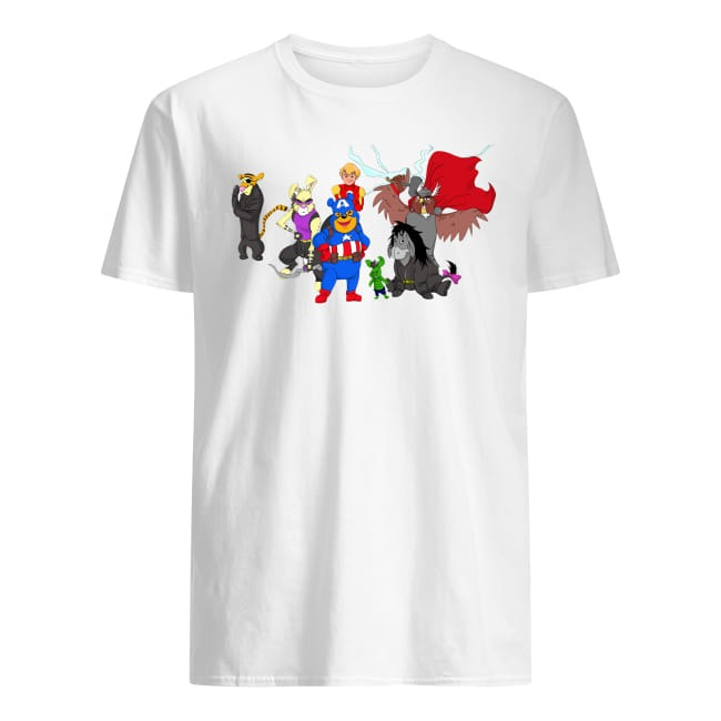 Super Heroes Winnie The Pooh Character version shirt