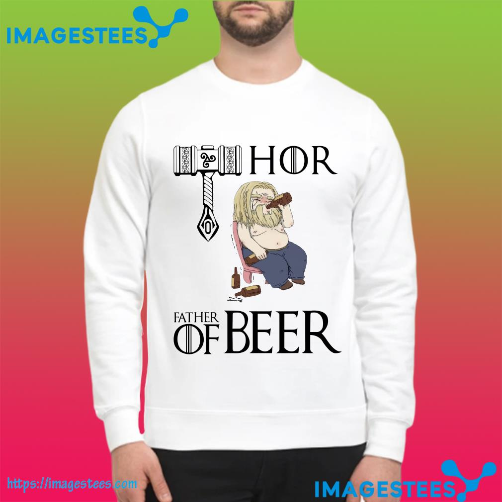 Avengers endgame Fat Thor father of beer sweater