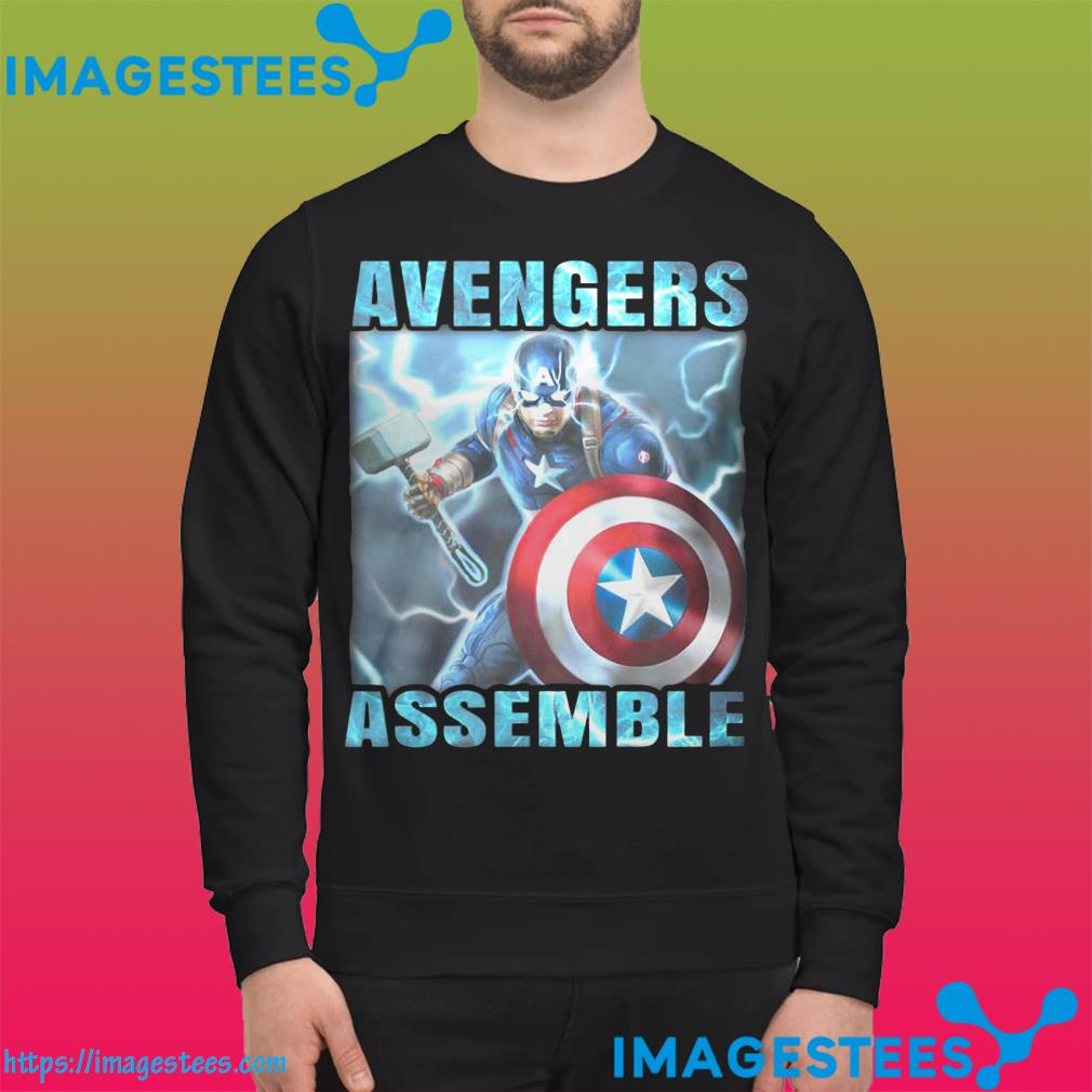 Captain America Avengers Assemble sweater