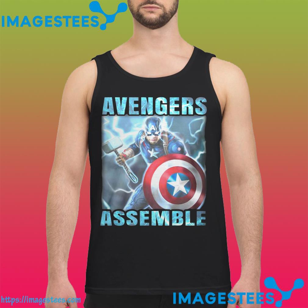 Captain America Avengers Assemble tank top
