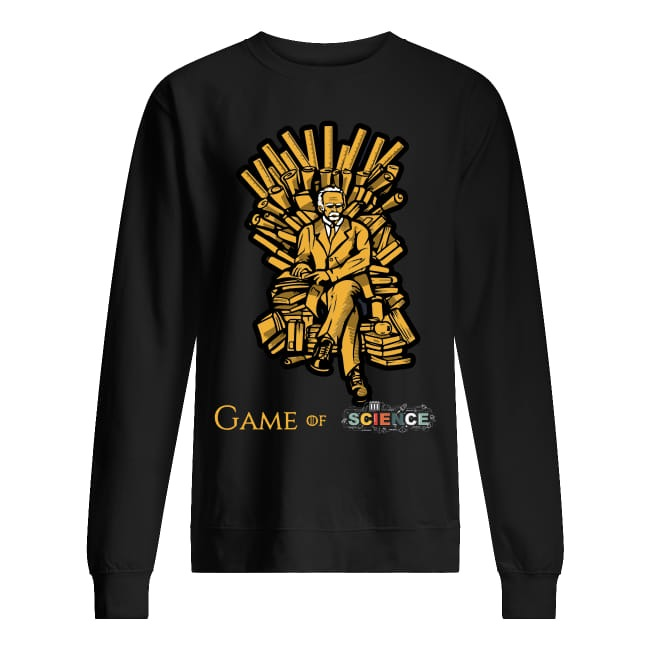 Einstein Game Of Science sweater
