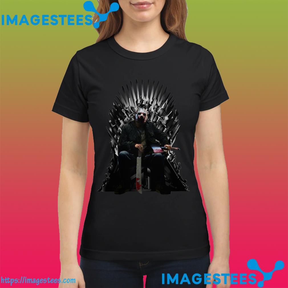 Jason Voorhees GOT Iron Thrones ladies tee