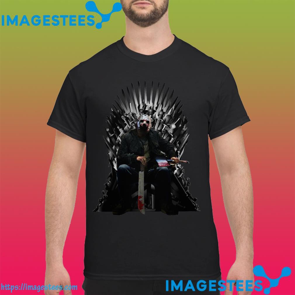 Jason Voorhees GOT Iron Thrones shirt