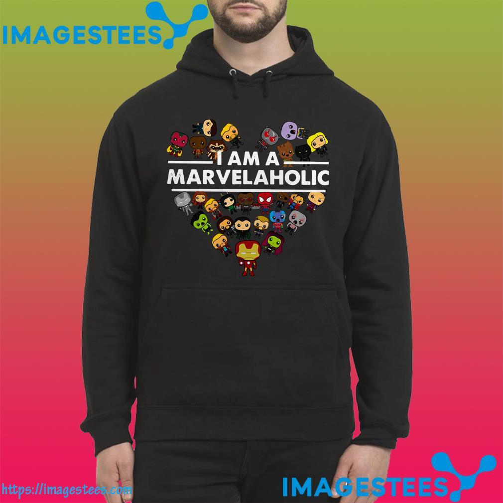 I Am A Marvelaholic Marvel Aholic hoodie