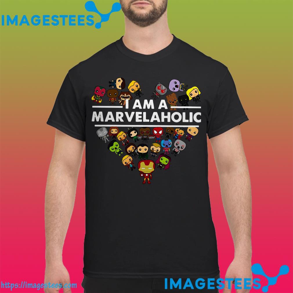 I Am A Marvelaholic Marvel Aholic shirt
