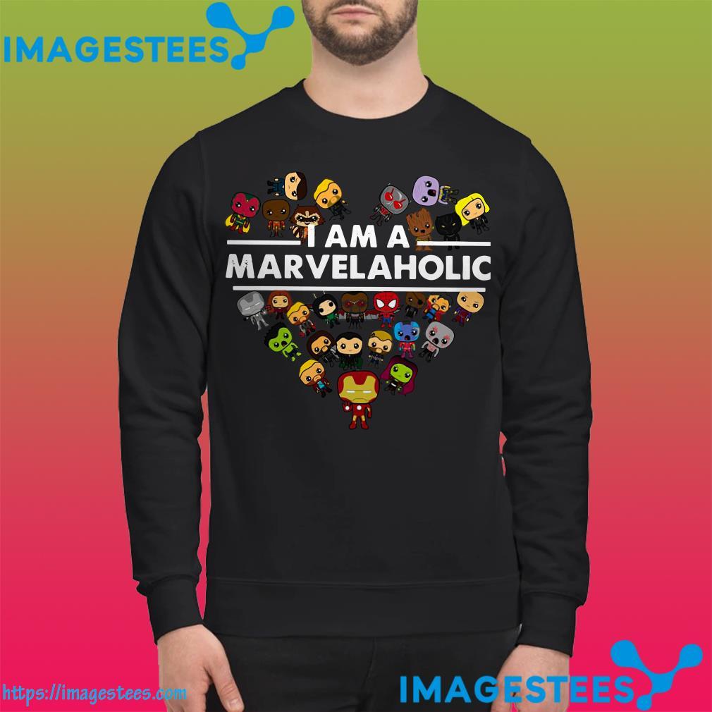 I Am A Marvelaholic Marvel Aholic sweater