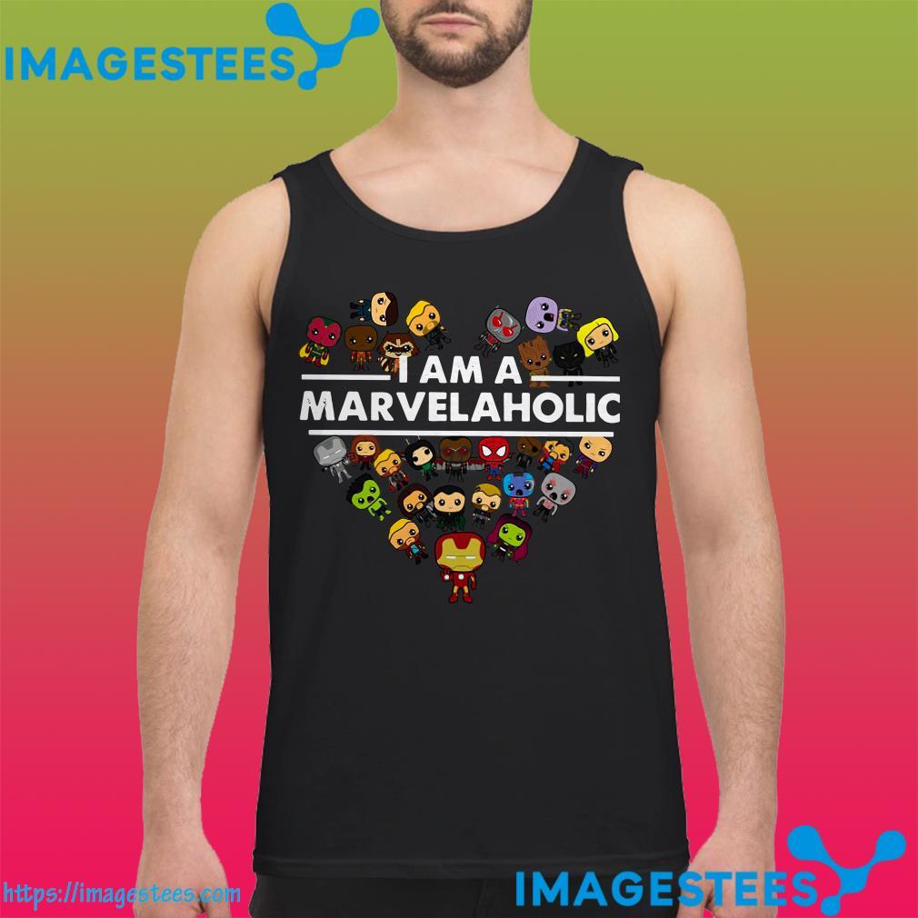 I Am A Marvelaholic Marvel Aholic tank top