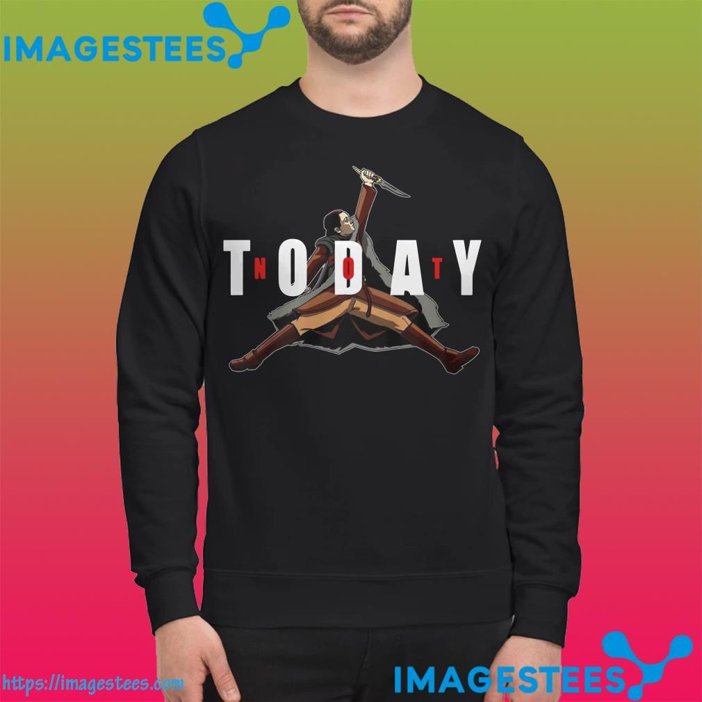 Not Today Game Of Thrones Arya Stark sweater