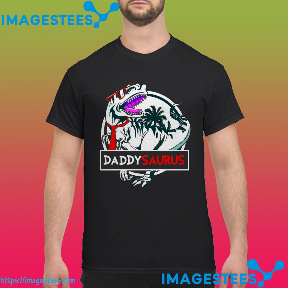 Official Daddy Saurus Glasses shirt