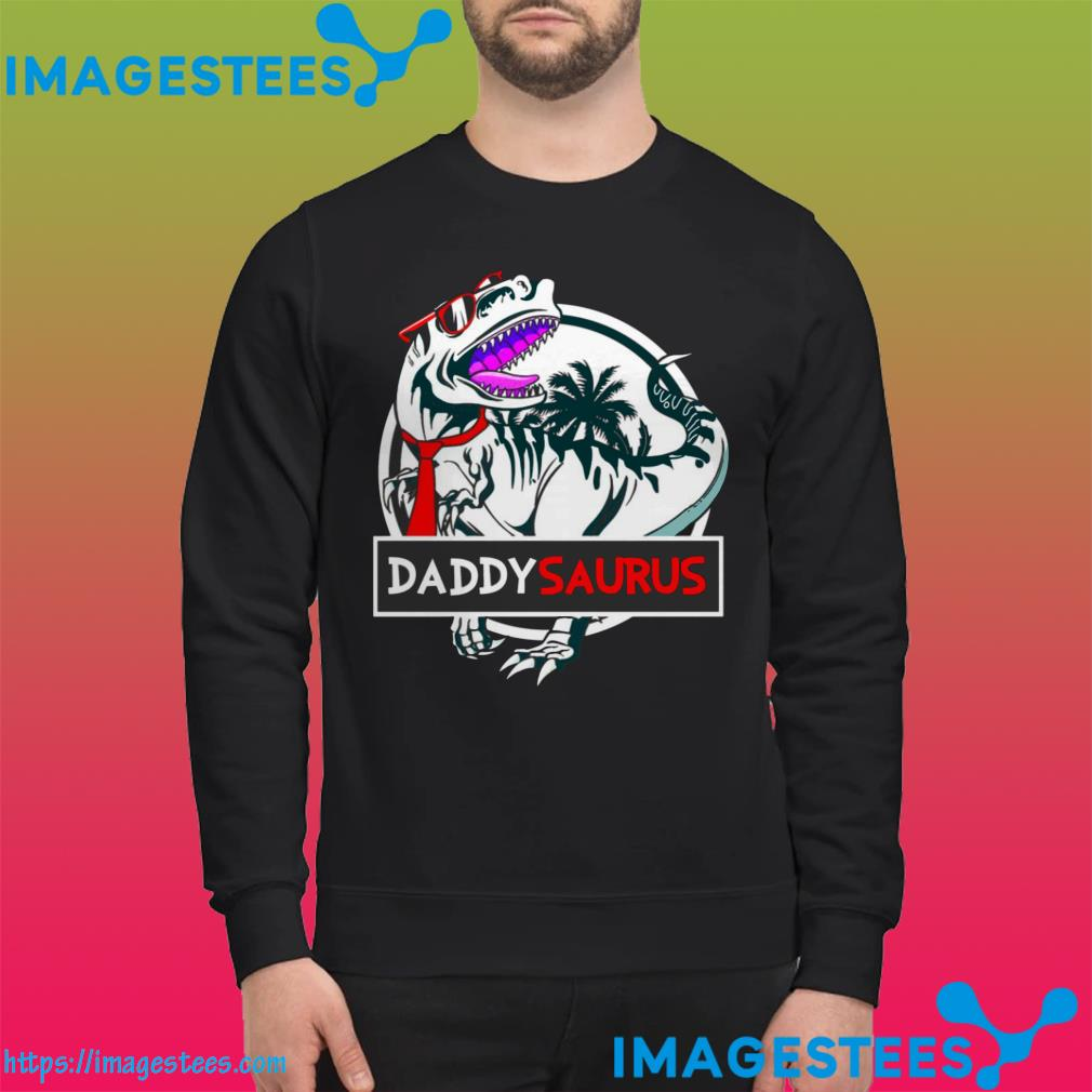 Official Daddy Saurus Glasses sweater