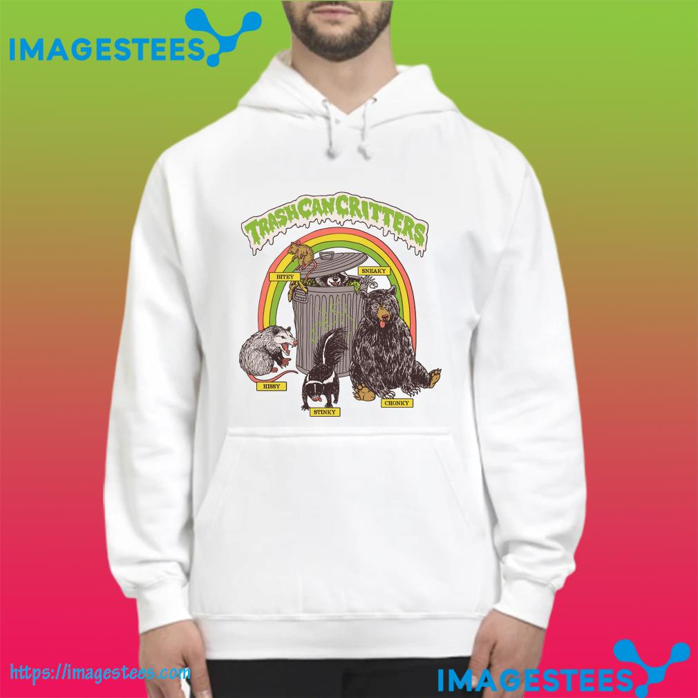 Official Trash Can Critters hoodie