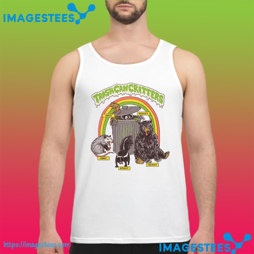 Official Trash Can Critters tank top