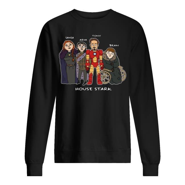 Sansa Arya Tony Bran House Stark sweater