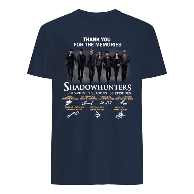Shadowhunters thank you for the memories shirt