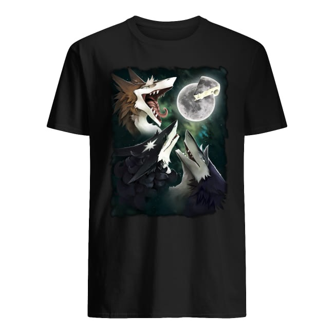 Three Foxs Sergal Moon Cheese shirt
