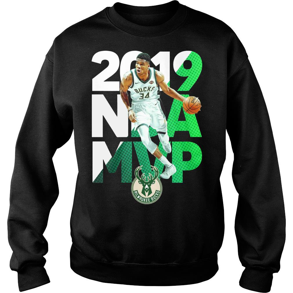 2010 NBA MVP Milwaukee Bucks Shirt sweater