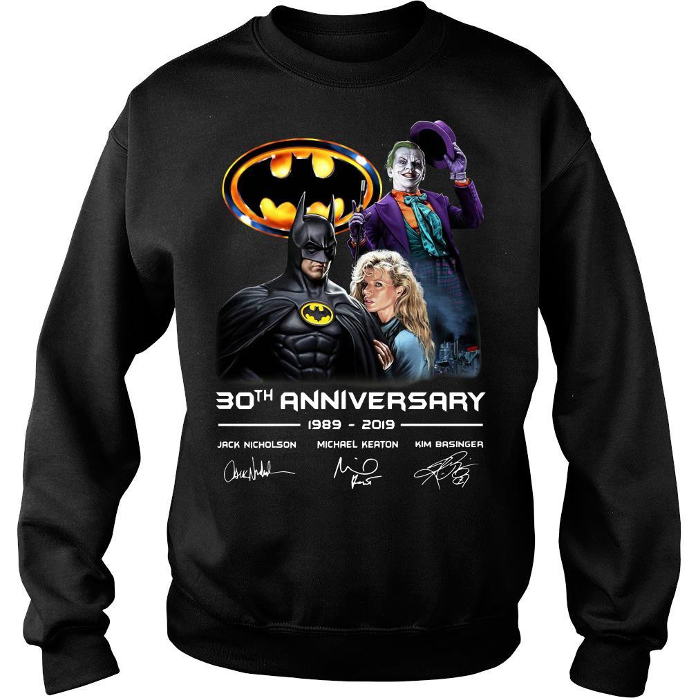 30th anniversary Jack Nicholson Michael Keaton and Kim Basinger 1989 - 2019 shirt sweater