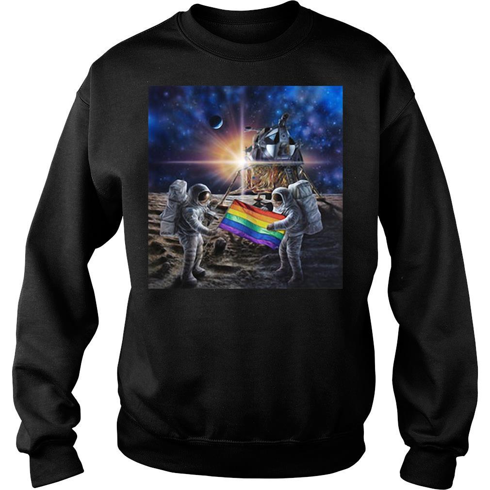 50th Anniversary Moon Landing And Stonewall Riots NYC Gay Pride LGBT 1969 shirt sweater