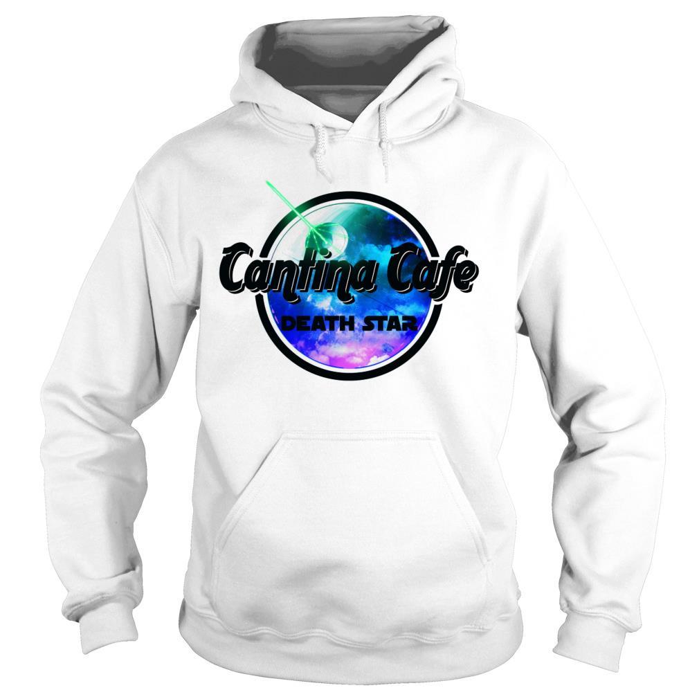 Cantina cafe death star shirt hoodie