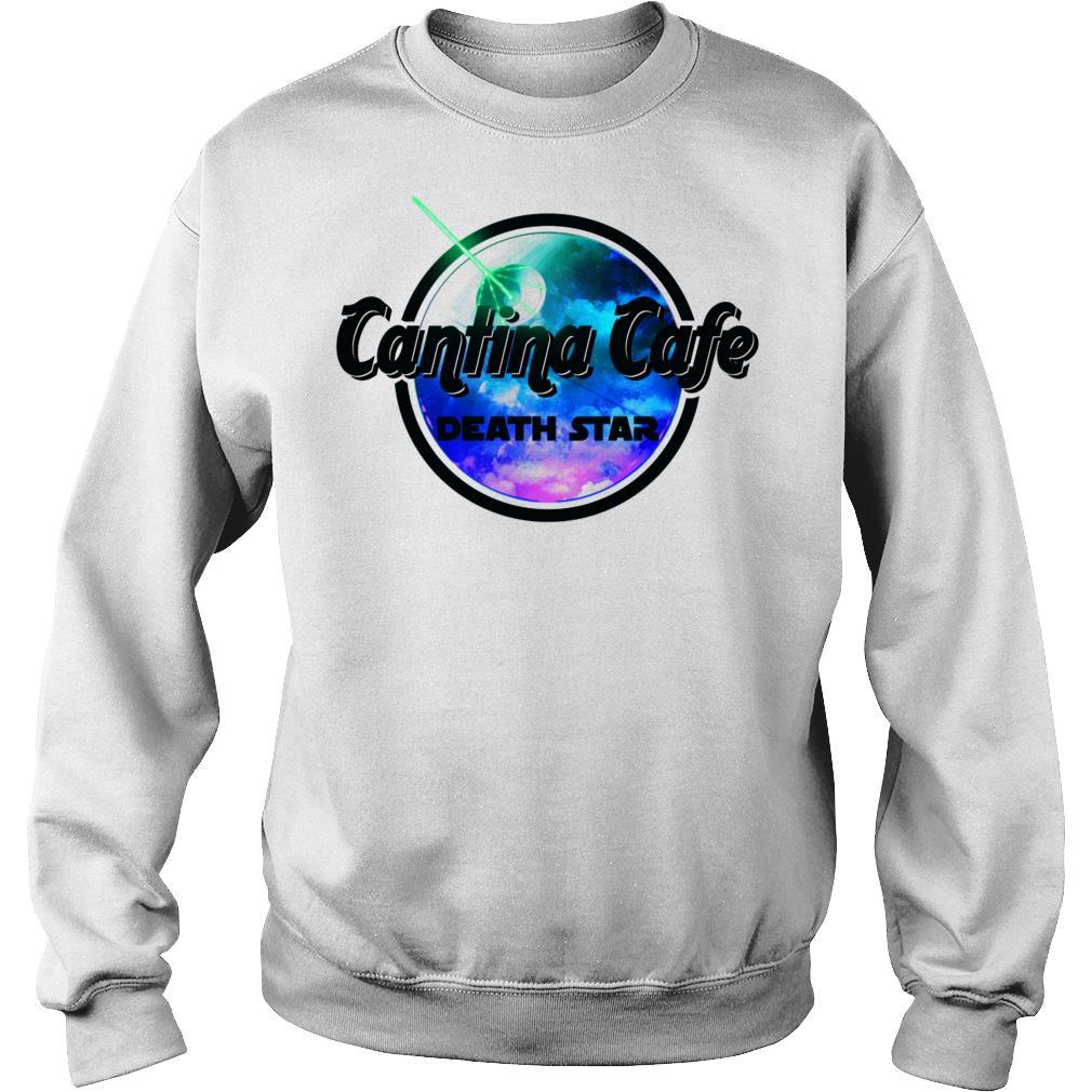 Cantina cafe death star shirt sweater