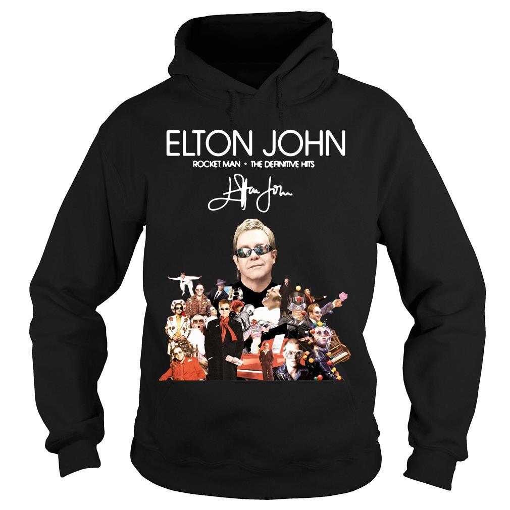 Elton John Rocket Man The Definitive Hits Shirt hoodie