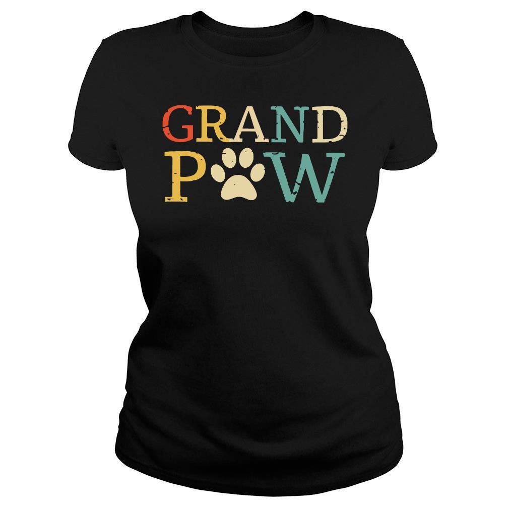 Grand Paw shirt ladies tee
