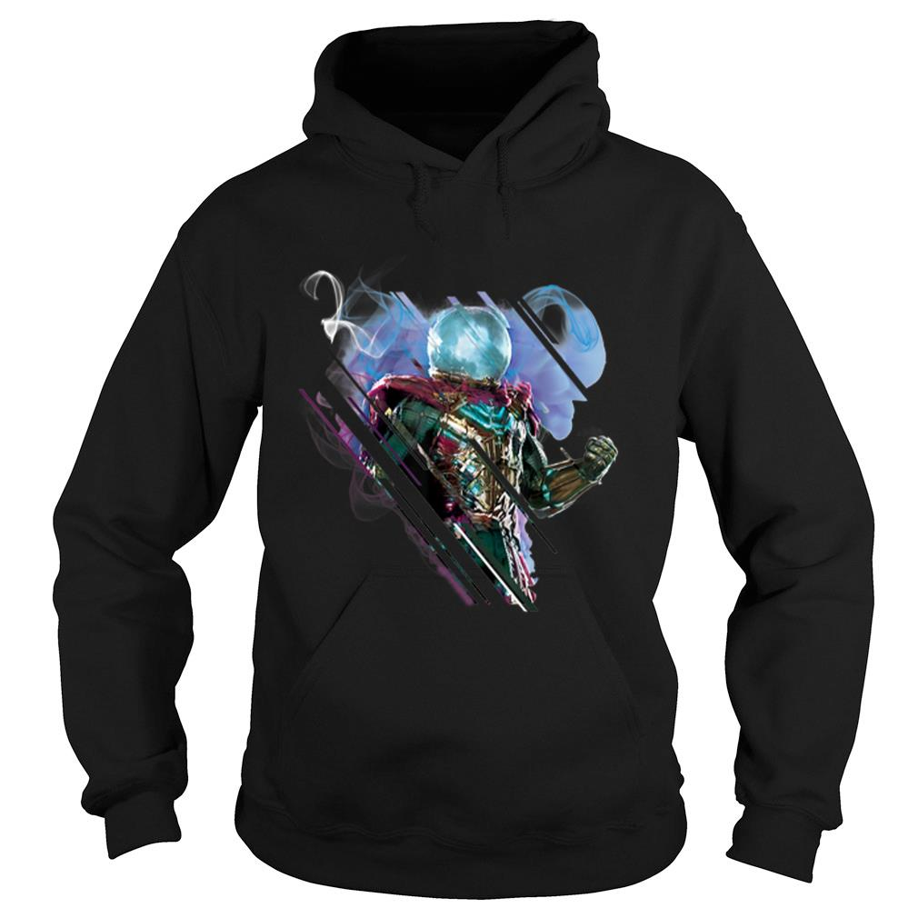 Marvel Spider-man Far From Home Mysterio Power shirt hoodie