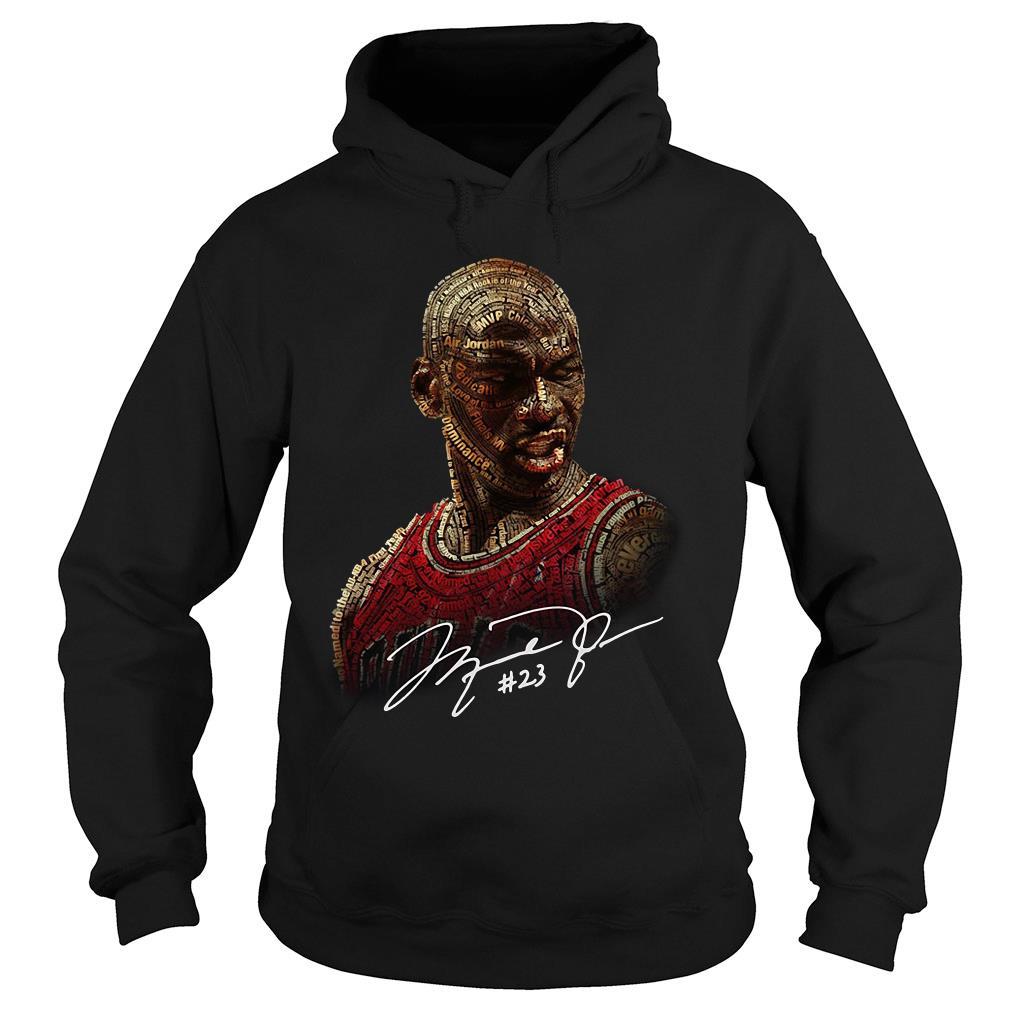 Michael Jordan Singnature Shirt hoodie